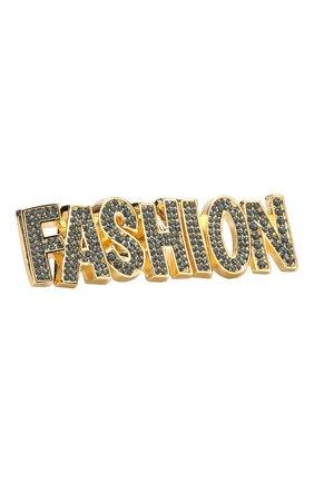 Кольцо Fashion с отделкой кристаллами Swarovski | Фото №1