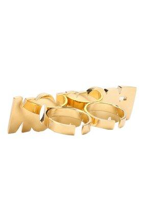Кольцо Fashion с отделкой кристаллами Swarovski | Фото №2