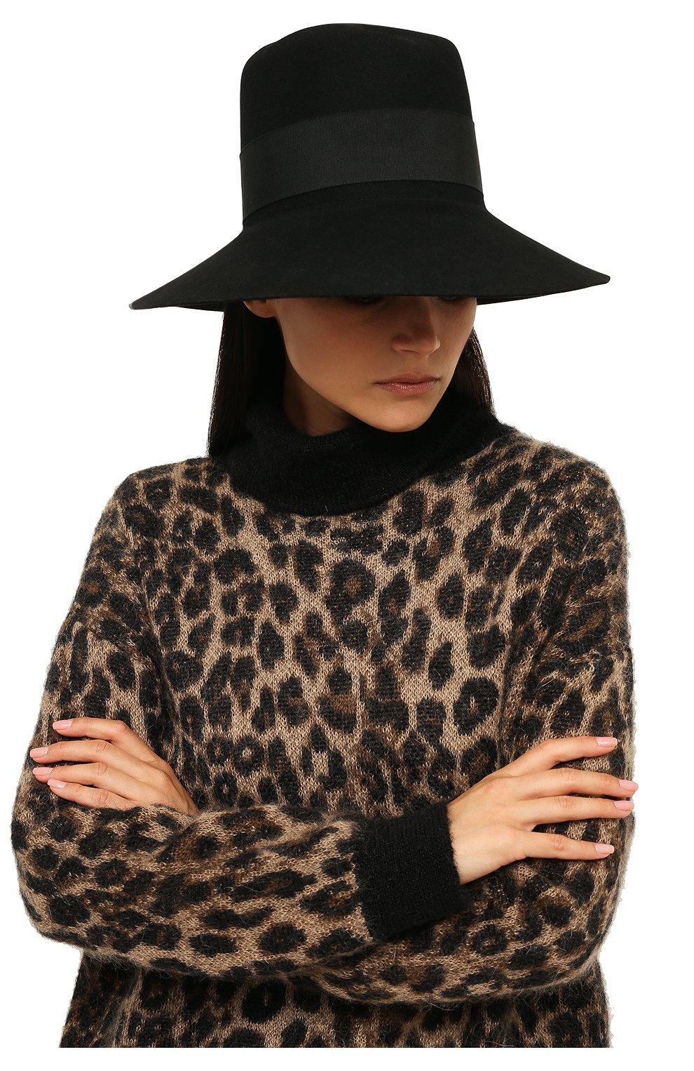 a14e32d98a40 Фетровая шляпа с лентой
