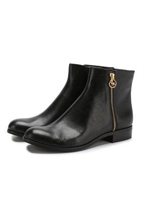Кожаные ботинки Jaycie на молнии   Фото №1