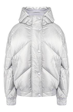 Утепленная куртка с капюшоном | Фото №1