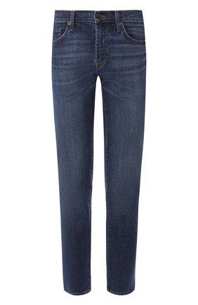 Мужские джинсы прямого кроя J BRAND синего цвета, арт. JB000148/G | Фото 1