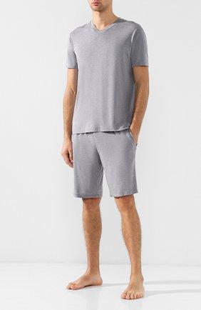 Пижама из вискозы с шортами | Фото №1