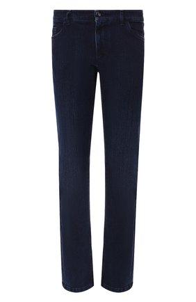 Мужские джинсы прямого кроя  ZILLI темно-синего цвета, арт. MCQ-00210-DESU1/R001 | Фото 1