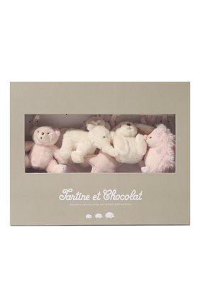 Детского подвесная музыкальная игрушка TARTINE ET CHOCOLAT светло-розового цвета, арт. T30603H | Фото 1