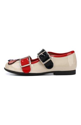 Лаковые туфли с ремешками | Фото №2