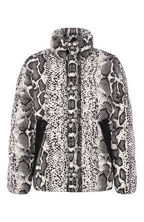 Пуховая куртка на молнии с воротником-стойкой | Фото №1