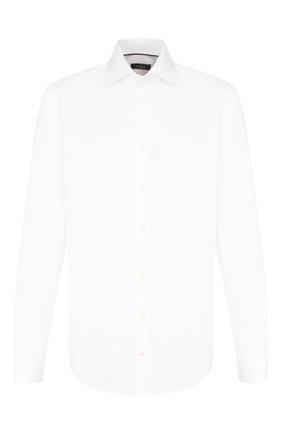 Мужская хлопковая сорочка VAN LAACK белого цвета, арт. TIVARA2-PTF/160888 | Фото 1