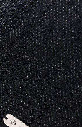 Мужской кашемировая бейсболка LORO PIANA темно-синего цвета, арт. FAI2314 | Фото 3
