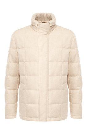 Пуховая куртка Piumo Cortina на молнии с воротником-стойкой | Фото №1