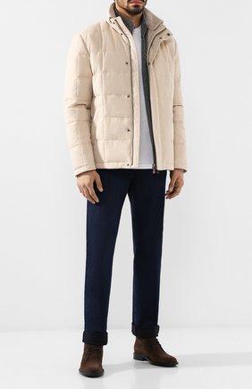 Пуховая куртка Piumo Cortina на молнии с воротником-стойкой | Фото №2