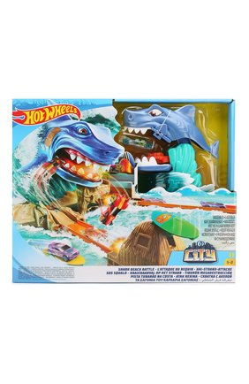 Набор Hot Wheels Shark Beach Battle | Фото №1