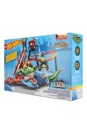 Детского набор hot wheels gator carwash MATTEL разноцветного цвета, арт. FTB67   Фото 2