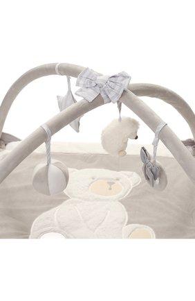 Детского игровой коврик с подвесными игрушками TARTINE ET CHOCOLAT серого цвета, арт. T30615H | Фото 2