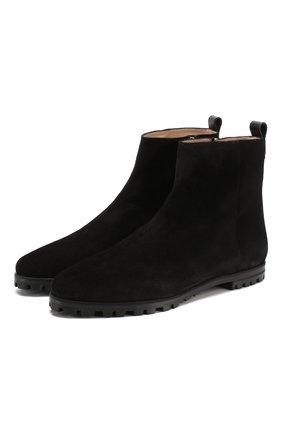 Однотонные замшевые ботинки Riley   | Фото №1
