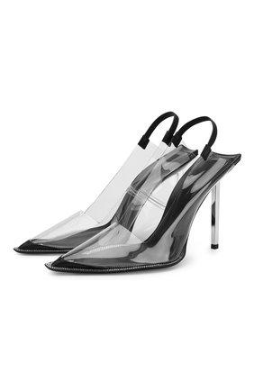 Прозрачные туфли Marlow на шпильке   Фото №1