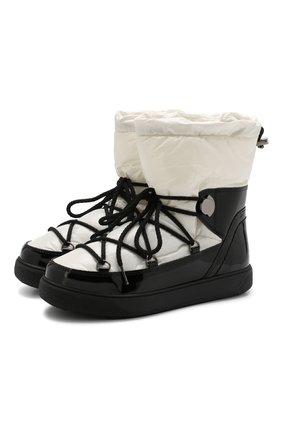 Утепленные ботинки Ynnaf на шнуровке | Фото №1