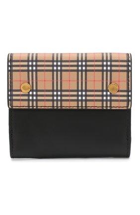 Кожаный кошелек с отделениями для кредитных карт  | Фото №1