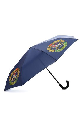Женский складкой зонт с принтом BURBERRY темно-синего цвета, арт. 4078237 | Фото 2