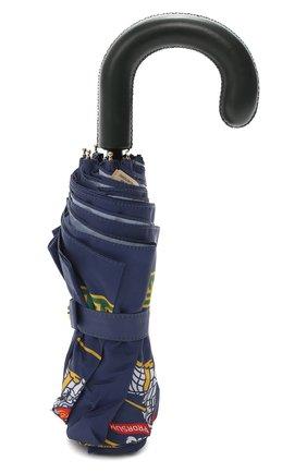 Складкой зонт с принтом | Фото №4