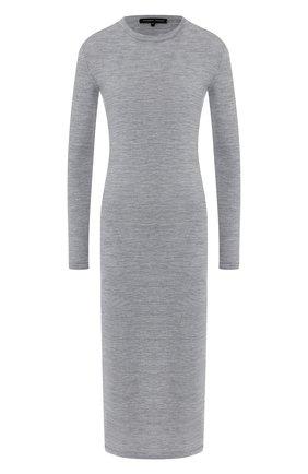 Вязаное платье-миди из шерсти | Фото №1