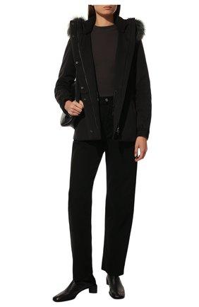 Женская кашемировая куртка  LORO PIANA темно-серого цвета, арт. FAF8086   Фото 2