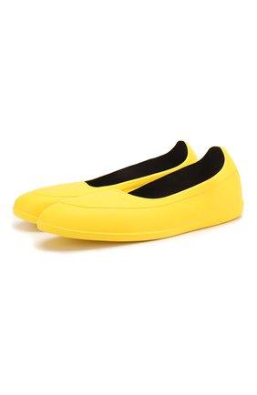 Мужские галоши SWIMS желтого цвета, арт. 100 | Фото 1