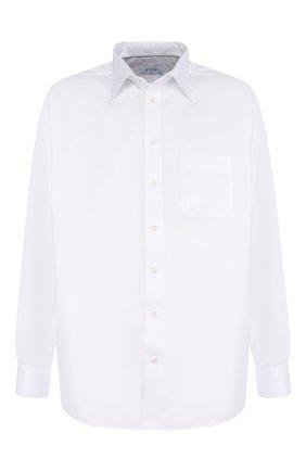 Мужская хлопковая сорочка с воротником кент ETON белого цвета, арт. 3000 78011 | Фото 1