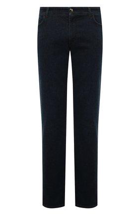 Мужские джинсы прямого кроя ZILLI темно-синего цвета, арт. MCQ-00350-HIPE1/R001 | Фото 1