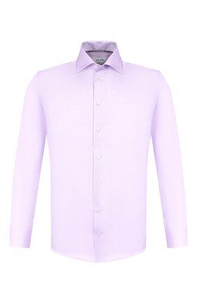 Мужская хлопковая сорочка ETON сиреневого цвета, арт. 3441 79511 | Фото 1