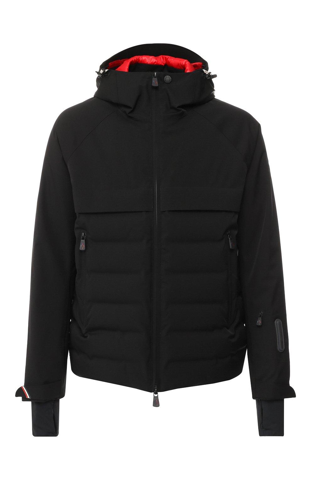1e047f51e4c Мужская черного стеганая куртка achensee moncler grenoble MONCLER ...
