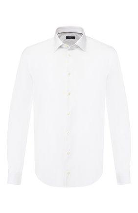 Мужская хлопковая сорочка VAN LAACK белого цвета, арт. TE02-PXSF/130050 | Фото 1
