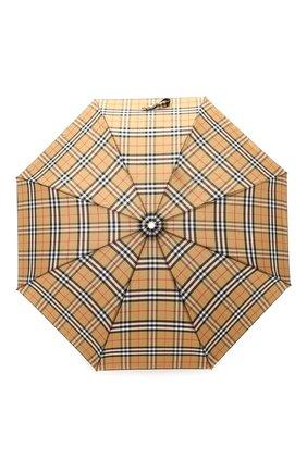Складной зонт в клетку Vintage Check | Фото №1