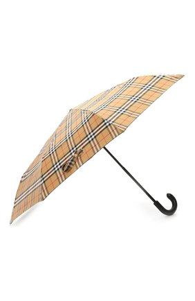 Складной зонт в клетку Vintage Check | Фото №2