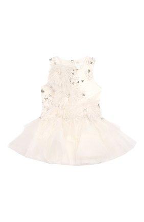 Мини-платье с аппликациями   Фото №1