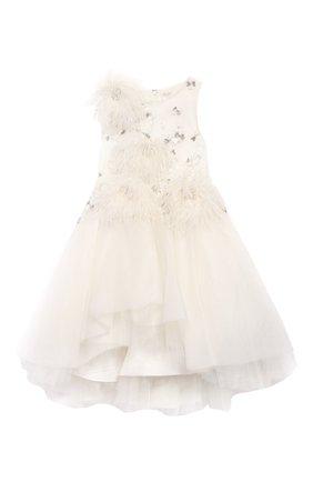 Платье-миди с аппликациями   Фото №1
