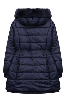 Утепленное пальто на молнии с капюшоном | Фото №2