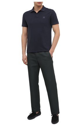 Мужские текстильные мокасины SWIMS черного цвета, арт. 030   Фото 2