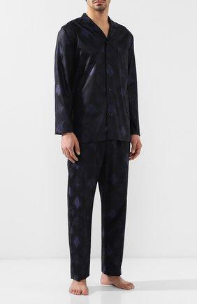Хлопковая пижама с брюками | Фото №1