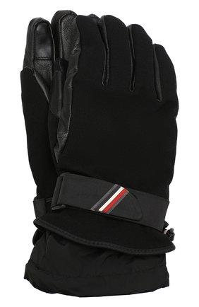 Мужские утепленные перчатки MONCLER GRENOBLE черного цвета, арт. D2-097-00524-00-53063 | Фото 1