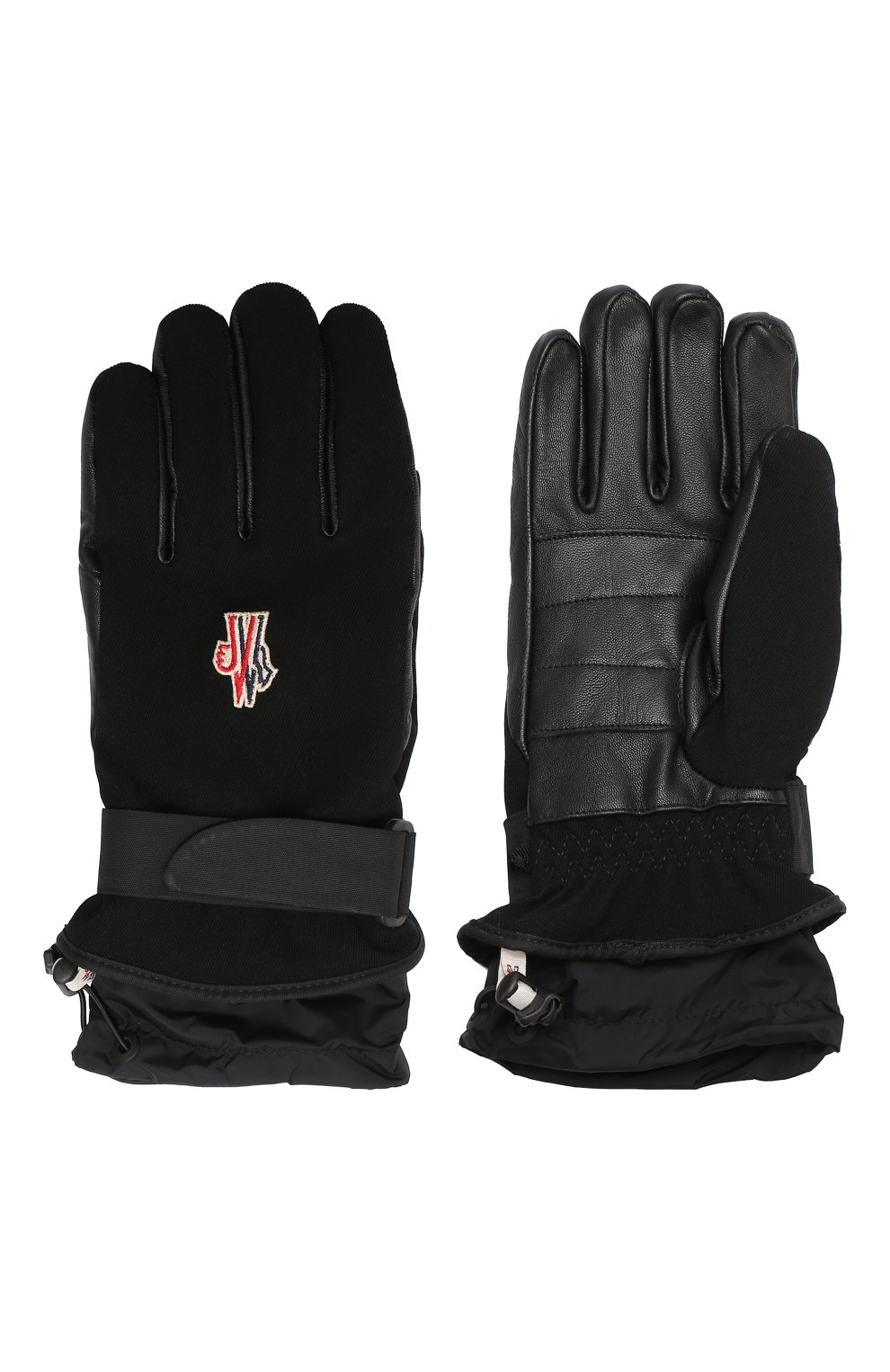 Мужские утепленные перчатки MONCLER GRENOBLE черного цвета, арт. D2-097-00524-00-53063 | Фото 2