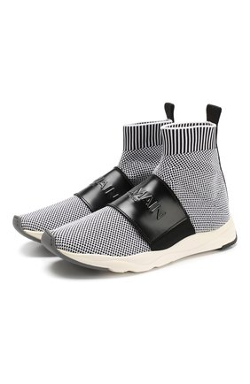 Текстильные кроссовки Cameron с кожаной отделкой | Фото №1