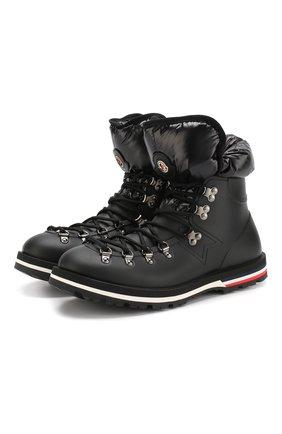 Утепленные резиновые ботинки Inaya на шнуровке | Фото №1