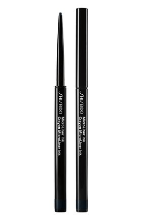 Женские тонкая подводка-карандаш для глаз microliner ink, 01 black SHISEIDO бесцветного цвета, арт. 14733SH | Фото 1