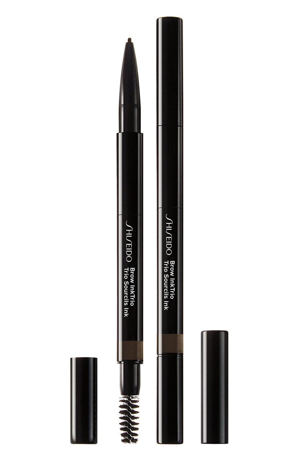 Женский моделирующий карандаш для бровей 3-в-1 inktrio, 04 ebony SHISEIDO бесцветного цвета, арт. 14776SH | Фото 1