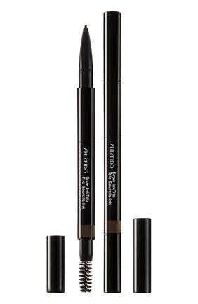 Моделирующий карандаш для бровей 3-в-1 InkTrio, 04 Ebony | Фото №1