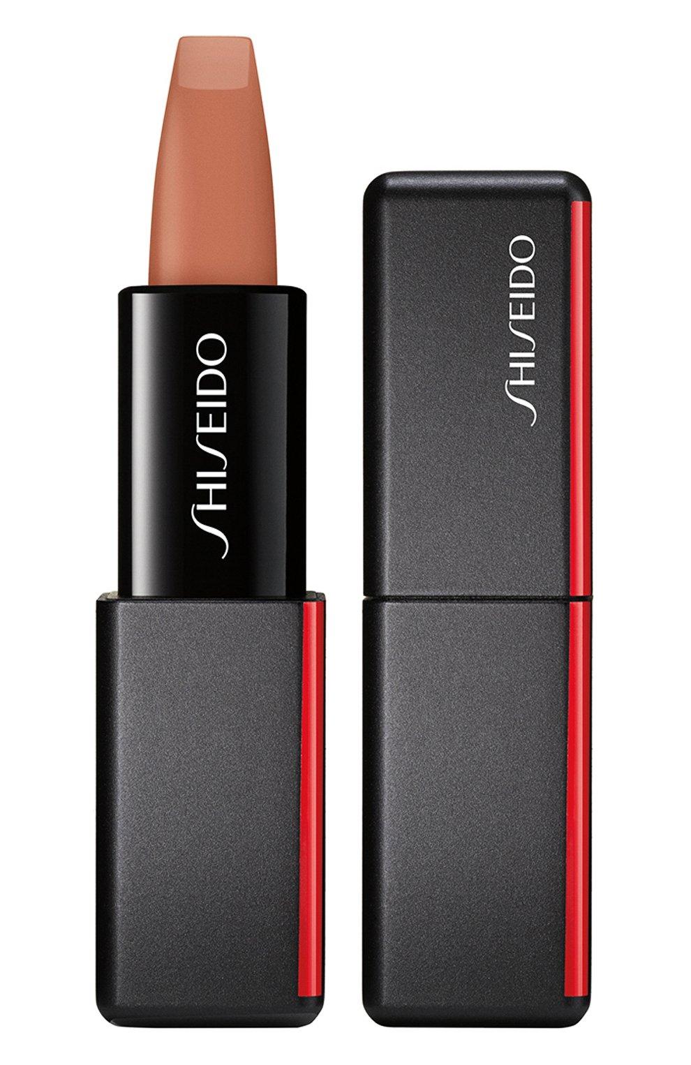 Женская матовая помада для губ modernmatte, 504 thigh high SHISEIDO бесцветного цвета, арт. 14780SH   Фото 1
