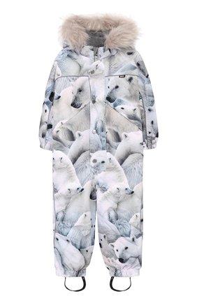 Комбинезон Polaris Fur со штрипками и капюшоном | Фото №1