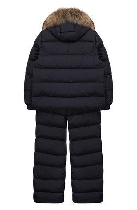 Детский комплект из куртки и комбинезона MONCLER ENFANT синего цвета, арт. D2-954-70331-25-68352/8-10A | Фото 2