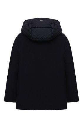 Комбинированная куртка с капюшоном | Фото №2